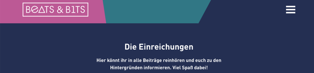 Banner from Beats und bits